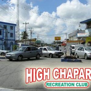 Sangre Grande - High Chaparral Rec. Club